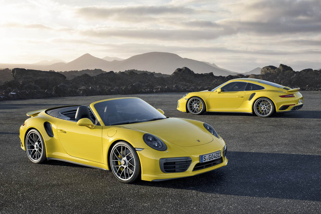 ۹۱۱ Turbo S und 911 Turbo S Cabriolet